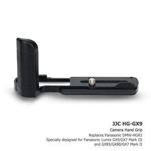 JJC Metal Camera Hand Grip Holder for Lumix DC-GX9 Replace Panasonic DMW-HGR2