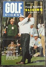 Vintage GOLF DIGEST Magazine August 1961 Jay Hebert - Gary Player Fairways