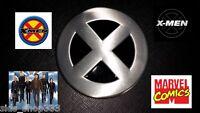 X-MEN logo metal BUCKLE XMEN wolverine rogue cosplay marvel comics Apocalypse US
