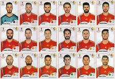 Sticker PANINI WORLD CUP RUSSIA 2018 - SPAIN - Choose Sticker