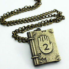 1PC Cool Gravity Falls Journal Number 2 Necklace Pendant Cosplay Costume