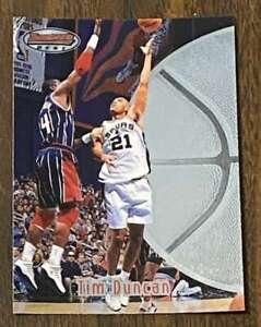1997-98 Bowman's Best #106 Tim Duncan (HOF) b RC/Rookie Spurs