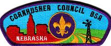 Boy Scouts Of America CORNHUSHER CNL CSP badge
