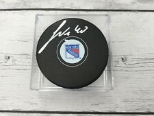 Michael Grabner Signed Autographed Hockey Puck NY New York Rangers a