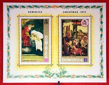 ZAYIX - 1972 Dominica 351a MNH - Christmas Paintings
