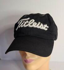 New Era Black Titleist Adjustable Baseball Hat Cap