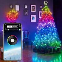 Christmas Tree Decor Lights Custom LED String Lights App Remote Control Adorn