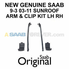 NEW GENUINE SAAB 9-3 SUNROOF ARM & CLIP KIT LH & RH 03-11 OEM 12802145 12767178