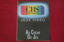CBS COLECOVISION CATALOGUE Jeu Bon état non écrit ou déchiré