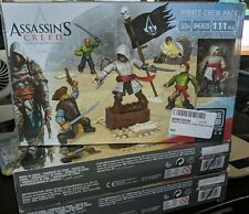 ASSASSIN'S CREED MEGA BLOKS 94305 PIRATE CREW PACK 111 PIECES  NEW SEALED