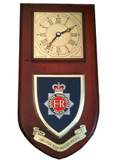 Greater Manchester Police Shield Wall Plaque Clock