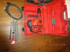 Hilti Te 60 Atcavr Sds Max 115vac Hammer Chipping With Bits Kit Combo 1025