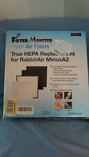 True HEPA Replacement For RabbitAir MinusA2 by Filter-Monster