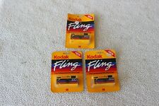 KODAK FLING IN A SEALED BLISTER PACK, ONE-TIME-USE NOS X3