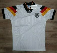 Germany Soccer Jersey Football Shirt adidas 100% Original 1992 Home S NEW