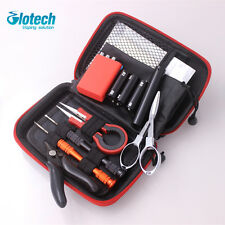 Glotech vape DIY tools kits coil jig ceramic tweezers wire coiling tools for RDA