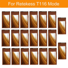 RetekessT116 20Coaster Pagers for Restaurant Food Wireless Calling Paging System