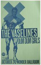 The Vaselines 2010 Gig Poster Portland Oregon Concert