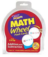 TREND Kids Math Wheel Addition Subtraction Flash Cards