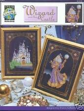 WIZARD and his CASTLE Cross Stitch Pattern 2 designs