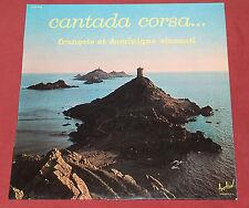 FRANCOIS ET DOMINIQUE VINCENTI  LP FESTIVAL CANTADA CORSA  CORSE