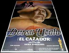 1975 Dersu Uzala ORIGINAL SPAIN MOVIE POSTER Akira Kurosawa
