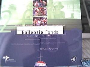 2003 8 monete EURO OLANDA Pays Bas Fondo per Epilessia