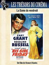 DVD La Dame du Vendredi (His Girl Friday) - Howard Hawks - Cary Grant