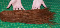 40 X 18 inches LONG  human hair dreadlock extension - medium thickness