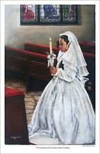 """artwork reproduction """"First Communion in Latin America"""""""