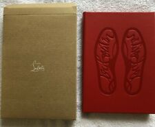 NEW In Box Christian Louboutin Red Bottoms Cover Journal Notebook Diary Gift