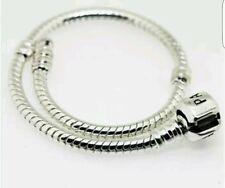 925 Silver plated Bracelet 19cm UK seller