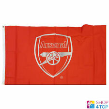 ARSENAL FC LARGE FLAG ROOM MATCH RED OFFICIAL FOOTBALL SOCCER CLUB TEAM NEW