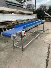 More details for conveyor, blue modular food conveyors
