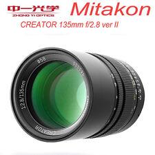 Zhongyi Mitakon CREATOR 135mm f/2.8 II for Canon EF EOS Full Frame Prime Telepho