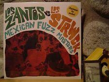 LOS ZANTOS vs. LOS STRWCK Mexican Fuzz Masters LP/1960s Mexico/Fuzz Garage/Psych