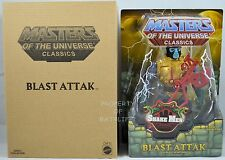 Masters of the Universe Classics BLAST ATTAK!!  RARE!! HTF!!