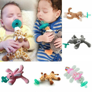 Newborn Baby Cartoon Nipper Kids Cute Chewing Soothers Safety BPA Free Silicone