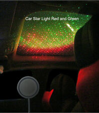 Car Roof Star Laser USB Box LED Galaxy Red and Green Mini Projector Ambient