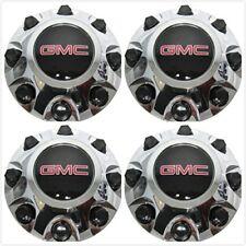 4X NEW Chrome Sierra 2500 3500 HD Wheel Center Hub Cap 11-17 For GMC #9597819