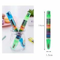 20 Colors Pencils School Student Stationery Kids Drawing Colored Pencil Creative