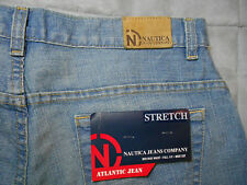 NEW NAUTICA size 10 JEANS blue STRETCH MID RISE BOOT CUT 31 x 32 women's NWT