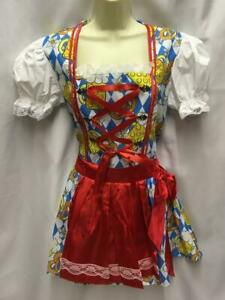 Swiss girl Dress Austrian Tyrolean Beer Pretzel  Size 16 - 18  Octoberfest  XL