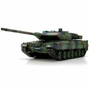 Torro 1/16 RC Leopard 2A6 Camo BB + Ir 2.4GHz