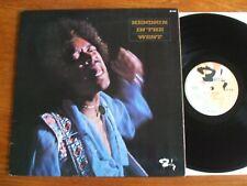 ORIGINAL VINYL LP JIMI HENDRIX IN THE WEST 1972 BARCLAY FRANCE EXCELLENT ETAT EX