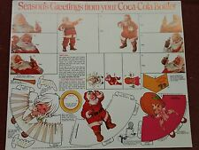 2 Sheets - Coke Coca-Cola Christmas Collectible Holiday Decorations gift tags