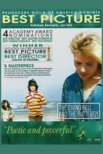 DIVING BELL AND THE BUTTERFLY Movie POSTER 27x40 D Mathieu Amalric Emmanuelle