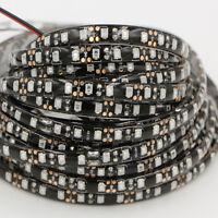 5M 600 LED Strip Lights waterproof 5050 3528 black PCB Self AdhesiveTapes lamp