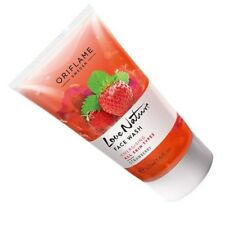 Oriflame Love Nature Strawberry Face Wash 50 ml(Pack of 2) - Free Shipping