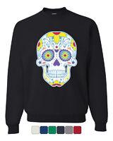 Sugar Skull Day of the Dead Sweatshirt Calavera Dia de los Muertos